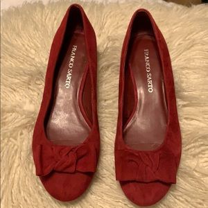 Franco Sarto red Shoes